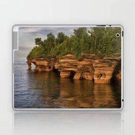 Apostle Islands Sea Caves Laptop & iPad Skin