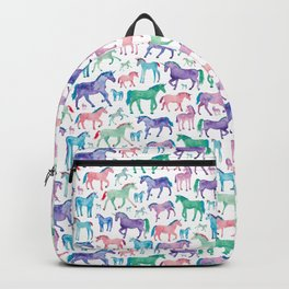 Pastel Unicorn Pattern Backpack
