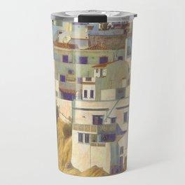 Albufeira citadel houses Travel Mug
