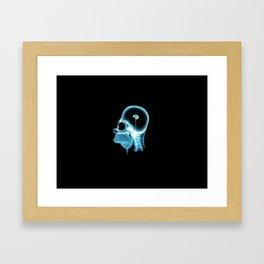 Homer Brain Framed Art Print