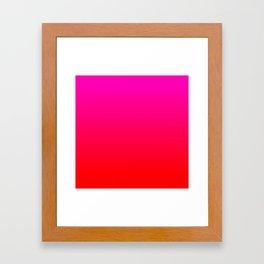 Love Ombre Framed Art Print