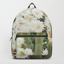 Cactus and Flowers Backpack