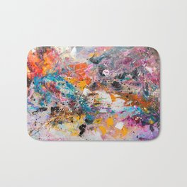 ILLUSIVE MOUNTAINS Bath Mat