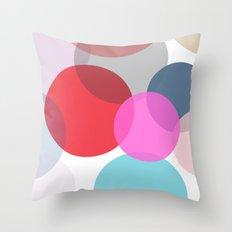 Pop Dots Throw Pillow