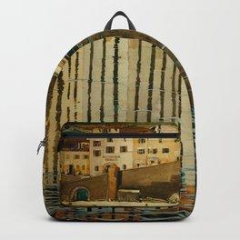 "Charles Rennie Mackintosh ""Rue du Soleil"" Backpack"