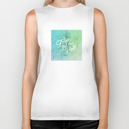 Forge Your Own Path Biker Tank