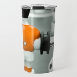 Table Football 02B - Defender - Orange (everyday 30.01.2017) Travel Mug