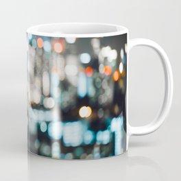 Blurry City Lights Coffee Mug
