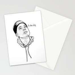 To the sky. Stationery Cards