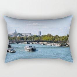 View from the Pont Royal - Paris Rectangular Pillow