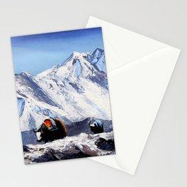 Black Yak On Everest Base Camp Stationery Cards