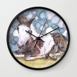 Dartmoor Foal Wall Clock