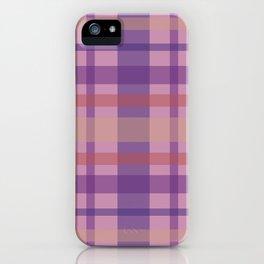 Violet Madras II iPhone Case