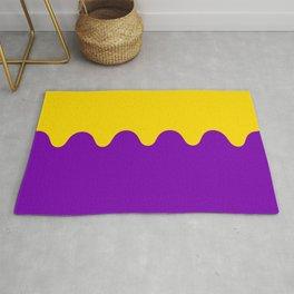 Wavy Intersexual Colors Rug