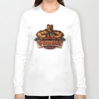 pitbull Long Sleeve T-shirts featuring PITBULL RIDERS by gtrullas