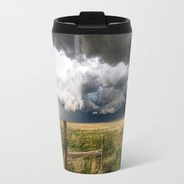Aquamarine - Storm Over Colorado Plains Travel Mug