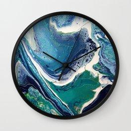 Natural Waves Wall Clock