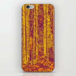 In the middle of the forest #decor #society6 iPhone Skin