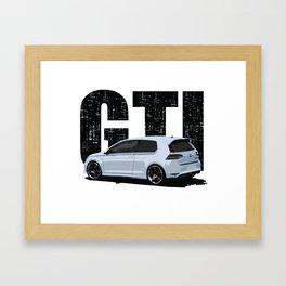 Golf GTI - 2 Door Framed Art Print