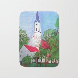 Kirche von Ergolding Bath Mat