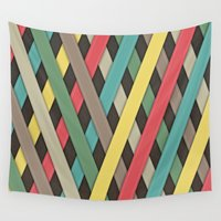 striped Wall Tapestries featuring Striped by Find a Gift Now