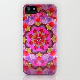 Mandala Opening iPhone Case