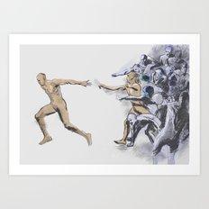 1989-6-4 Art Print