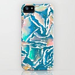 Hydrangea Abstract iPhone Case