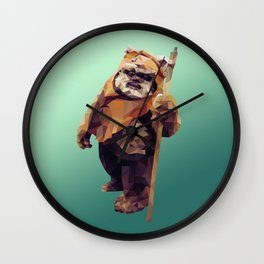 Jittery Little Thing (Ewok) Wall Clock