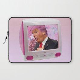 Kawaii Trump Glitter Puke Laptop Sleeve