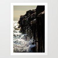 michigan Art Prints featuring Michigan by Kim Yuseung