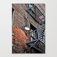 Fire Escape! Canvas Print