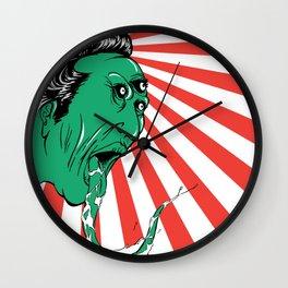 Green Yokai Wall Clock