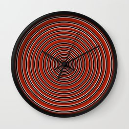 aRedOne Wall Clock