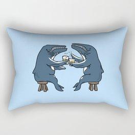 Whalemate Rectangular Pillow