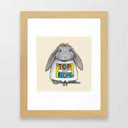 Top of the Flops Framed Art Print