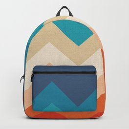 Vintage 70s Adventure on the Mountains Backpack