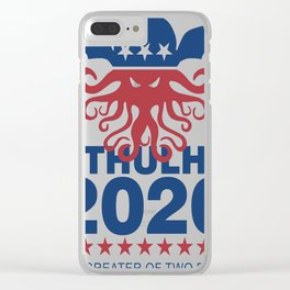 Vote Cthulhu 2020 Clear iPhone Case