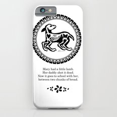Mary had a little lamb Slim Case iPhone 6s