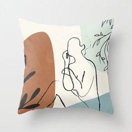Breeze II Throw Pillow