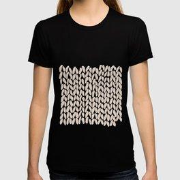 Half Knit Ombre Nat T-shirt