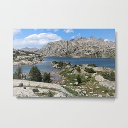 Island Lake, Wind River Range Metal Print