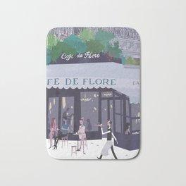 Cafe de flore Bath Mat