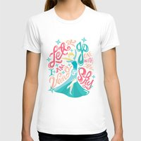 risa rodil T-shirts featuring Snow Queen by Risa Rodil