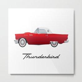 1957 Thunderbird Metal Print