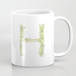 Initial H Coffee Mug