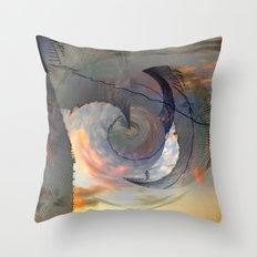 Deflector Throw Pillow