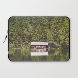 Cottage in the Forest (Color) Laptop Sleeve