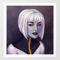 android Art Prints featuring Android by twinklepowderysnow
