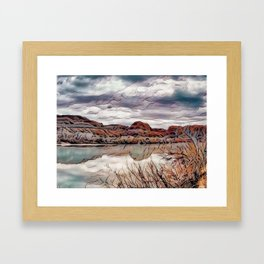 Peace on the River Framed Art Print